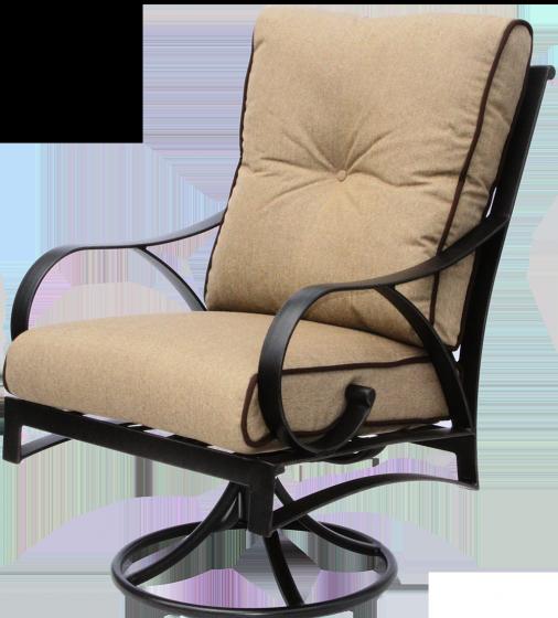 Outdoor Patio Swivel Rocker Chair