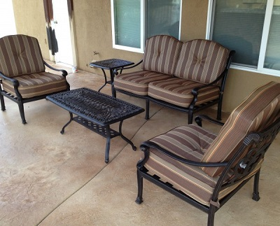 Patio furniture Irvine