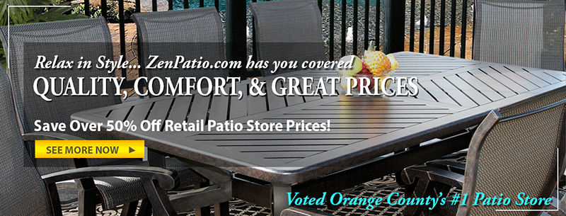 Outdoor Patio Furniture Store In Orange County Zen Patio Zenpatio